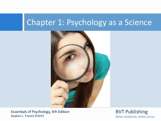 Figure 1.1  Approaches to  Studying Personality
