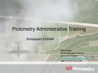 Pictometry Administrative Training