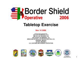 Tabletop Exercise Nov 14 2006