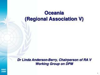 Oceania (Regional Association V)