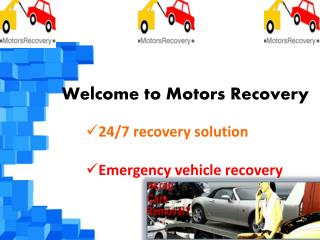 Motors Recovery