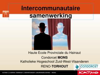 Intercommunautaire  samenwerking