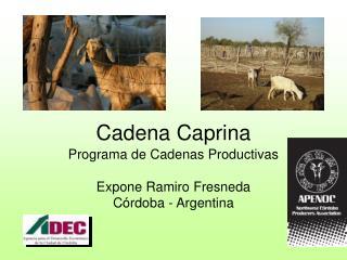 Cadena Caprina