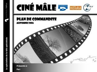 Plan de commandite  Automne 2006