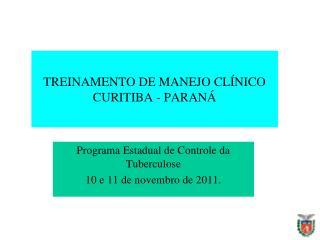 Tendência da incidência da tuberculose. Paraná, 2001 a 2010*.