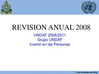 REVISION ANUAL 2008