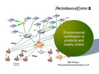 Mel Wilson PricewaterhouseCoopers LLP