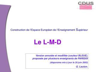 Le L-M-D