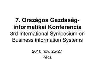 2010 nov. 25-27 Pécs