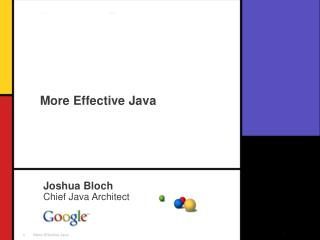 More Effective Java