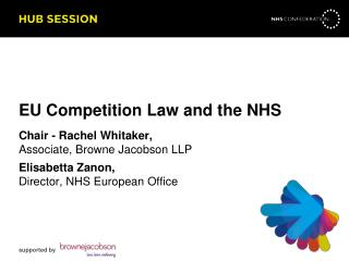 EU Competition Law and the NHS