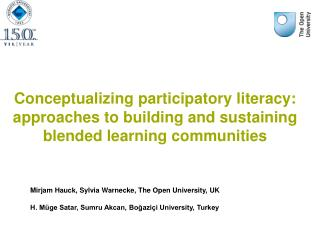 Conceptualizing participatory literacy: