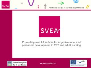 Promoting web 2.0 uptake for organisational and personnel development in VET and adult training
