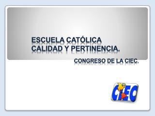 Congreso de la CIEC .