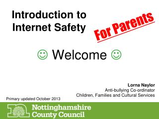 Introduction to Internet Safety