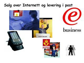 Salg over Internett og levering i post