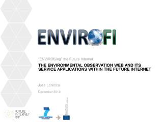 The Environmental Observation Web and its Service Applications within the Future Internet