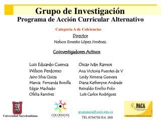 Programa de Acción Curricular Alternativo