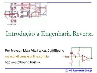 Introdu��o a Engenharia Reversa