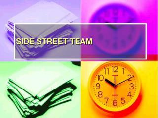 SIDE STREET TEAM