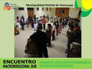 Municipalidad Distrital de Checacupe
