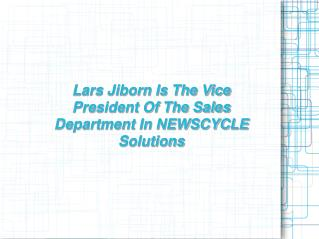 About Lars Jiborn