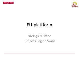 EU-plattform
