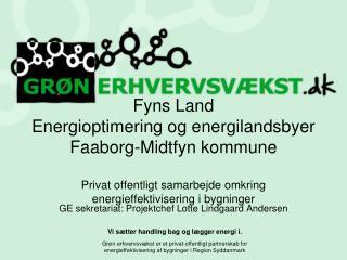 GE sekretariat: Projektchef Lotte Lindgaard Andersen