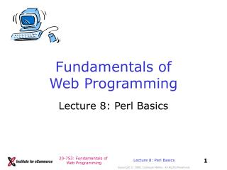 Fundamentals of Web Programming