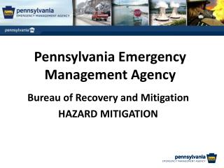 Pennsylvania Emergency Management Agency