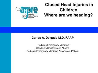 Closed Head Injuries in Children Where are we heading?