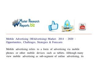 Mobile Advertising (MAdvertising) Market: 2014 - 2020 - Oppo