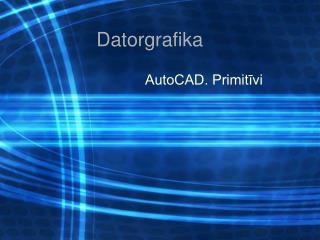 Datorgrafika