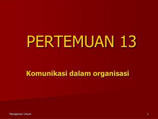 PERTEMUAN 13