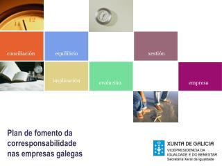 Plan de fomento da  corresponsabilidade nas empresas galegas