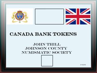 Canada Bank Tokens