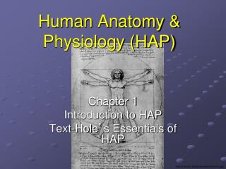 Human Anatomy & Physiology (HAP)