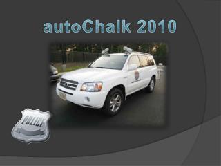 autoChalk  2010