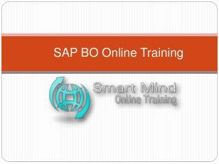 SAP BO Online Training in usa, uk, Canada, Malaysia, Austral