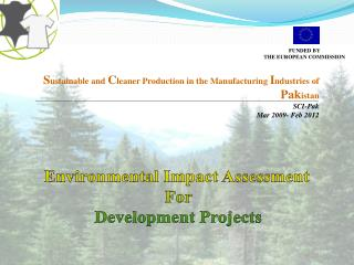 Environmental Impact Assessment  For Development Projects