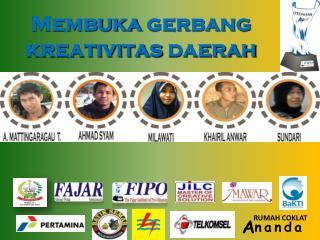 Membuka gerbang kreativitas daerah