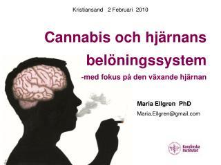 Cannabis och hjärnansbelöningssystem -med fokus på den växande hjärnan