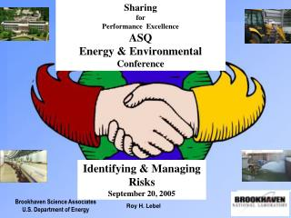 Brookhaven Science Associates U.S. Department of Energy