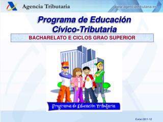 Programa de Educación Cívico-Tributaria