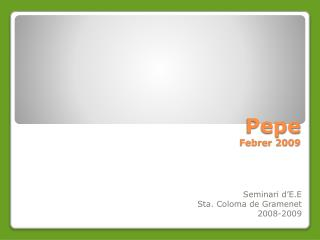 Pepe Febrer 2009