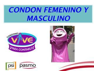 CONDON FEMENINO Y MASCULINO