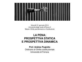Venerdì 31 gennaio 2014 Università degli studi di Roma 3