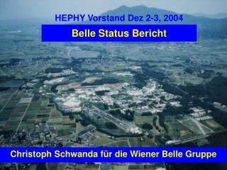 Belle Status Bericht