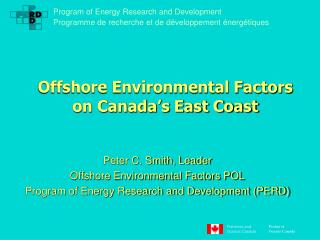 Offshore Environmental Factors on Canada's East Coast