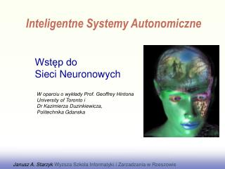 Wst?p do  Sieci Neuronowych